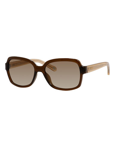Fossil Square 3027 Sunglasses-TRANSPARENT BROWN-One Size