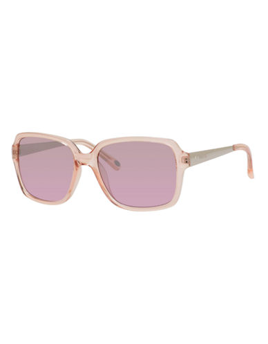 Fossil Square 3030 Sunglasses-LIGHT PINK-One Size
