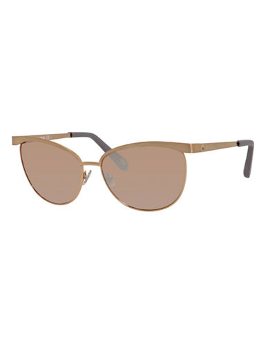 Fossil Round 3031 Sunglasses-ROSE GOLD-One Size