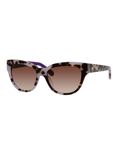 Kate Spade New York Aisha Sunglasses-TORTOISE LAVENDER-One Size