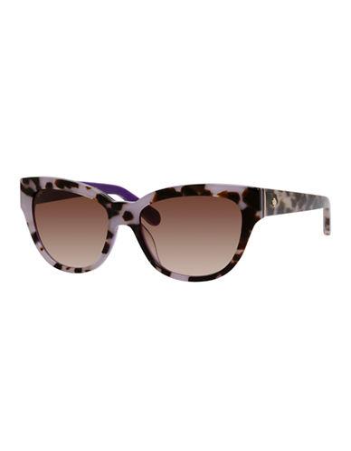 Kate Spade New York Aisha Sunglasses-TORTOISE LAVENDER-One Size