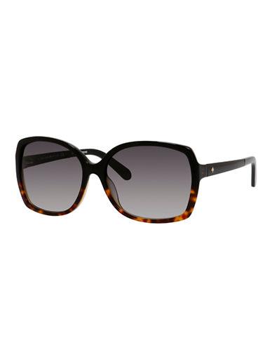 Kate Spade New York Darilynn Sunglasses-BLACK TORTOISE FADE-One Size