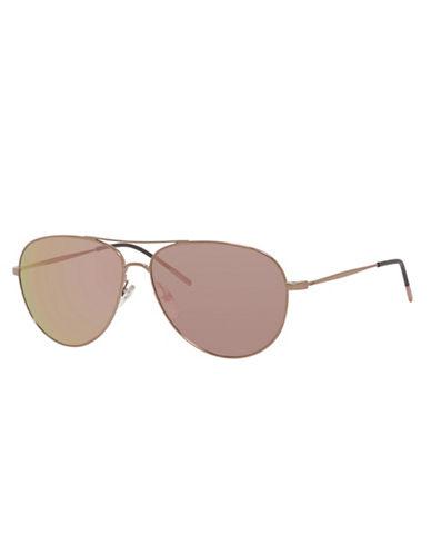 Carrera 56mm Thin Aviator Sunglasses-GOLD / COPPER-One Size