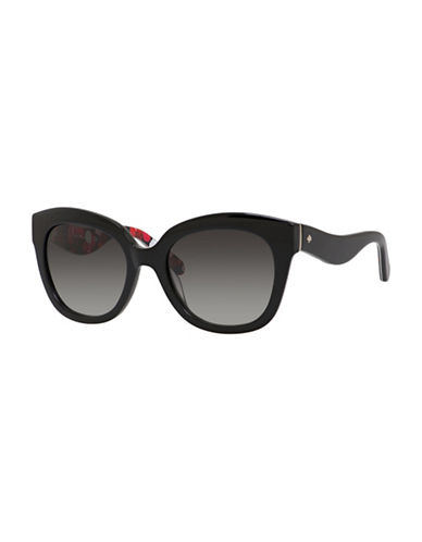 Kate Spade New York Amberly 54mm  Sunglasses-BLACK-One Size