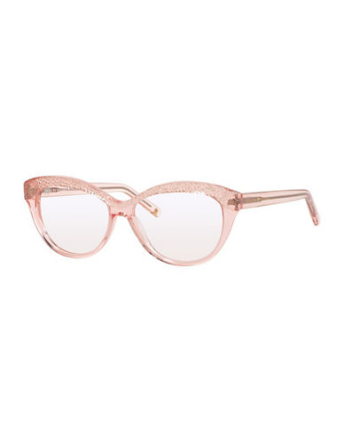 85acd586880 UPC 716737744253 product image for Kate Spade New York Zabrina 52mm Reading  Glasses-PINK- ...