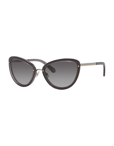 Kate Spade New York Cat Eye 57mm Sunglasses-GREY-One Size