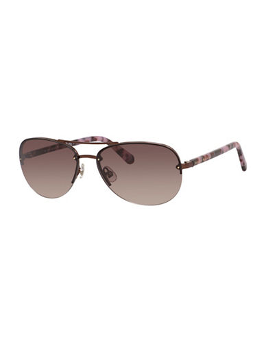 Kate Spade New York Beryl Sunglasses-BROWN-One Size