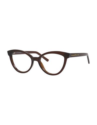 Kate Spade New York Danna 52mm Cat-Eye Reading Glasses-BROWN-1.5