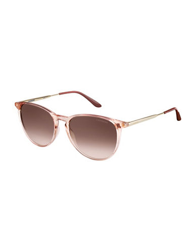 Carrera 5030/S 54mm Square Sunglasses-ROSE GOLD-One Size