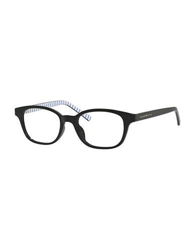 Kate Spade New York Kya 49mm Rectangle Reading Glasses-BLACK-2