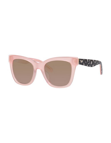 Kate Spade New York 51MM Cat Eye Sunglasses-PINK-One Size