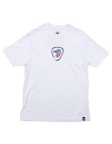 Parks Canada Original Mens Two Tone Beaver Logo T Shirt-WHITE-Small 87022313_WHITE_Small
