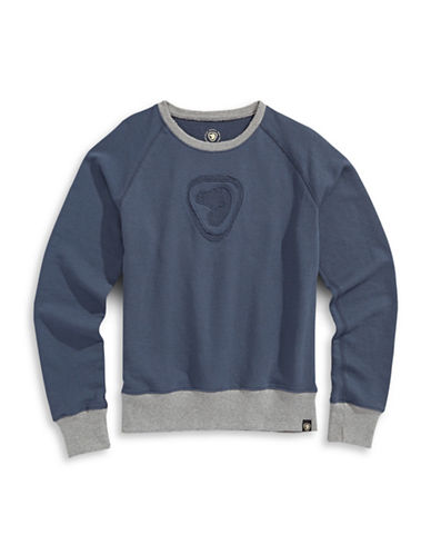 Parks Canada Original Parks Canada Flocked Sweater-NAVY-Small 87540580_NAVY_Small