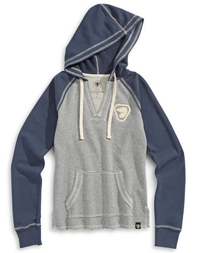 Parks Canada Original Parks Canada Two-Tone Hoodie-NAVY-X-Small 87540660_NAVY_X-Small