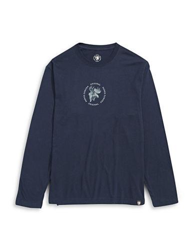 Parks Canada Original Parks Canada Moose T-Shirt-NAVY-Small 87880776_NAVY_Small