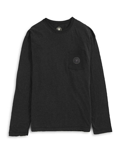 Parks Canada Original Long Sleeve Pocket Tee-BLACK-Large 87880794_BLACK_Large