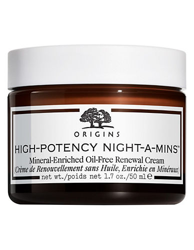 Origins High Potency Nightamins Mineralenriched Oilfree Renewal Cream-NO COLOUR-50 ml