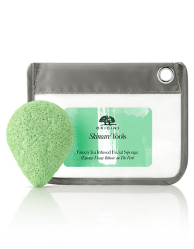 Origins Green Tea Infused Facial Sponge-NO COLOUR-One Size