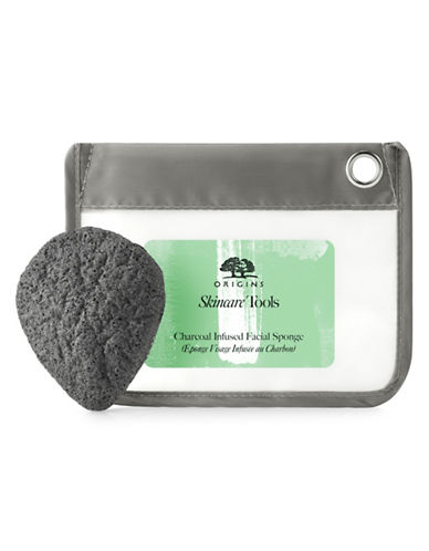 Origins Charcoal-Infused Facial Sponge-NO COLOUR-One Size