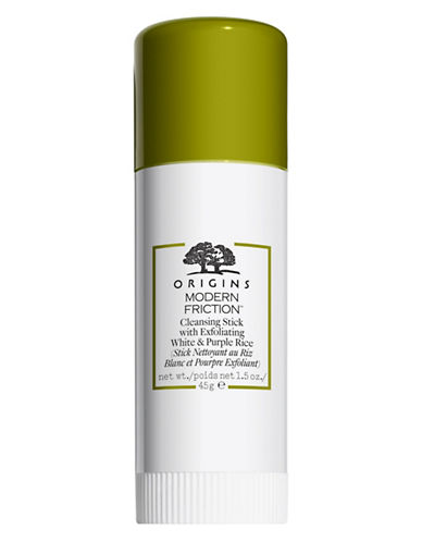 Origins Modern Friction Cleansing Stick with Exfoliating White and Purple Rice-NO COLOUR-One Size