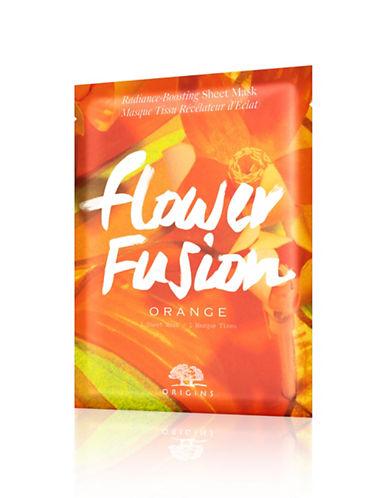 Origins Flower Fusion Orange Radiance-Boosting Sheet Mask-NO COLOUR-One Size