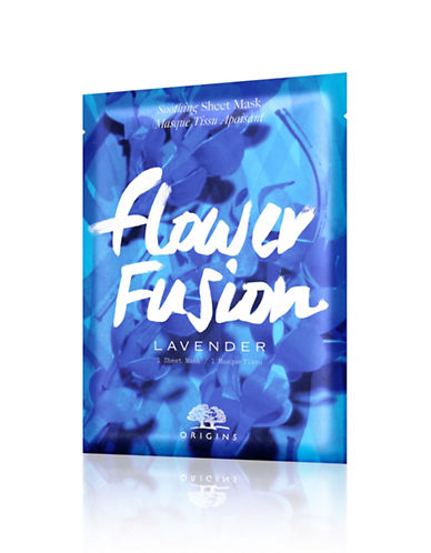 Origins Flower Fusion Lavender Soothing Sheet Mask-NO COLOUR-One Size