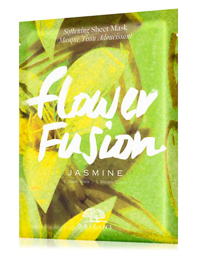 Origins Flower Fusion Jasmine Softening Sheet Mask-NO COLOUR-One Size