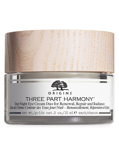 Origins Three Part Harmony Day & Night Eye Cream Duo for Renewal, Repair and Radiance-NO COLOUR-One Size