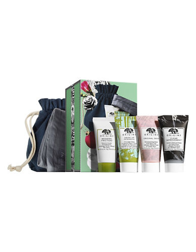 Origins Mini Mask Musts Four-Piece Set-NO COLOUR-One Size