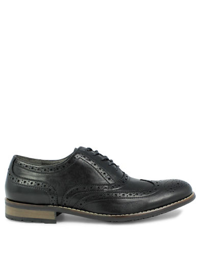 Nunn Bush TJ Wingtip Oxford-BLACK-8W