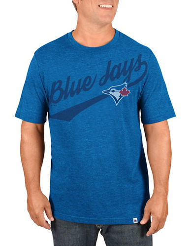 Majestic Toronto Blue Jays Roll The Punches Tee-BLUE-Small