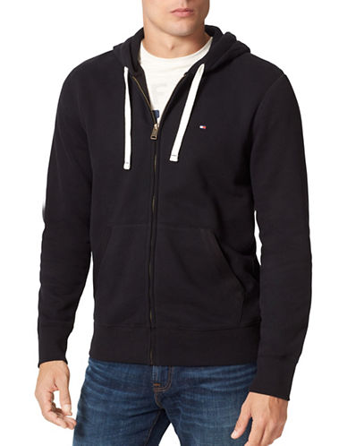 Tommy Hilfiger Plains Hoodie-BLACK-Large 88642565_BLACK_Large