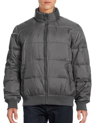 Tommy Hilfiger Primaloft Puff Jacket-DARK SHADOW-Large