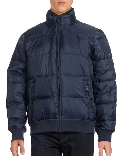 Tommy Hilfiger Primaloft Puff Jacket-MIDNIGHT-Small