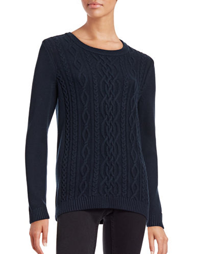 Tommy Hilfiger Cable Knit Sweater-BLUE-Small 88761988_BLUE_Small