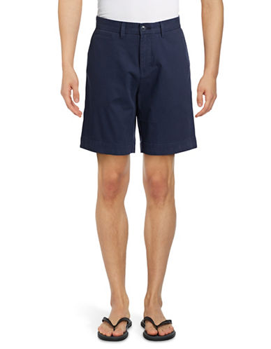 Tommy Hilfiger Custom-Fit Chino Shorts-NAVY BLAZER-30