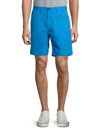 Tommy Hilfiger Custom-Fit Chino Shorts-FRENCH BLUE-32