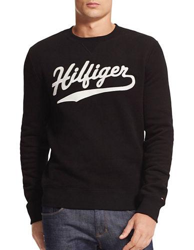 Tommy Hilfiger Milton Crew Sweatshirt-BLACK-Large 88780750_BLACK_Large
