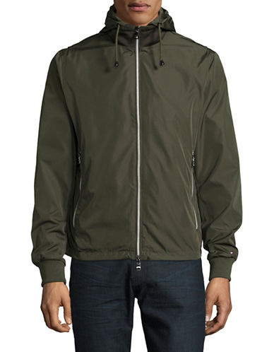 Tommy Hilfiger Darrel Hooded Jacket-GREEN-Large 89081118_GREEN_Large