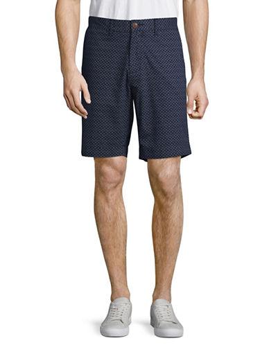 Tommy Hilfiger Patterned Shorts-BLUE-30