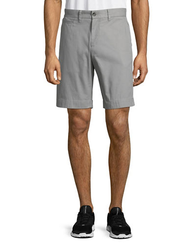 Tommy Hilfiger Cotton Twill Walking Shorts-GREY-30