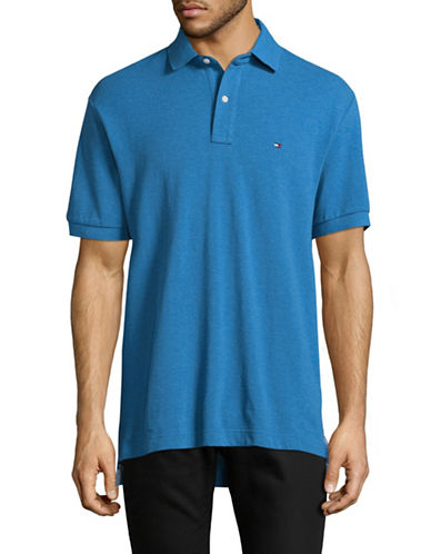 Tommy Hilfiger Classic-Fit Polo Shirt-BLUE-Small