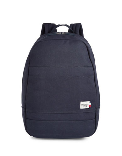 Tommy Hilfiger Canvas Dome Backpack-NAVY-One Size