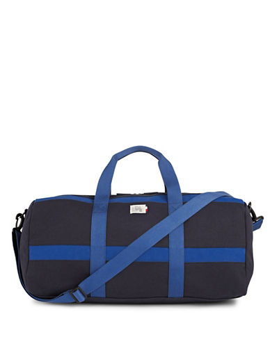 Tommy Hilfiger Canvas Weekender Bag-BLUE-One Size