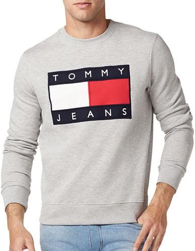 Tommy Jeans 90s Crew Neck Sweatshirt-GREY-X-Large 89316003_GREY_X-Large