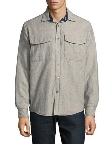 Tommy Hilfiger Stevenson Sport Shirt-PEACOAT-Large