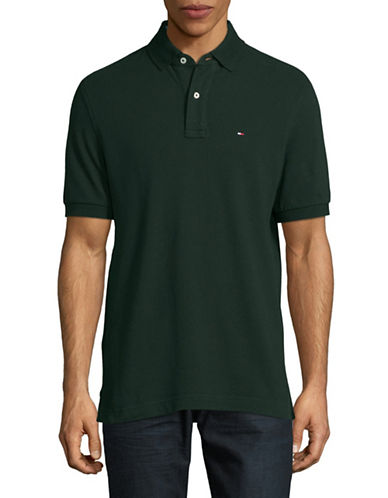 Tommy Hilfiger Classic-Fit Polo Shirt-GREEN-Small