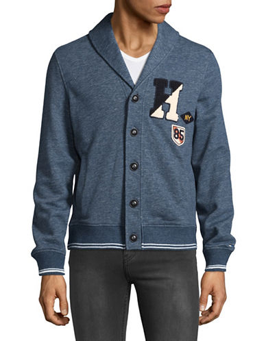 Tommy Hilfiger St. Angus Cardigan-BLUE-Medium
