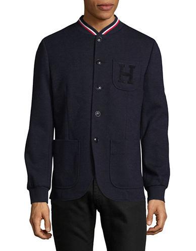 Tommy Hilfiger Varsity Sportcoat-NAVY-XX-Large