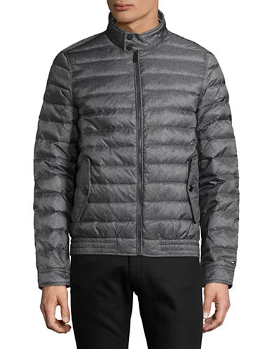Tommy Hilfiger Markham Insulator Jacket-GREY-X-Large